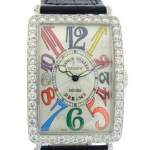 "Franck Muller ""Color Dreams"" White Gold and Diamond..."