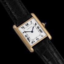 Cartier Tank Louis Mens (Midsize) Mechancial Watch - Solid 18K...