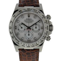 Rolex Daytona Cosmograph In 18kt White Gold Mop Diamond Dial...