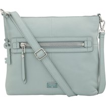 Fossil Dawson Top Zip Cross Body Bag, Sea Glass, One Size...