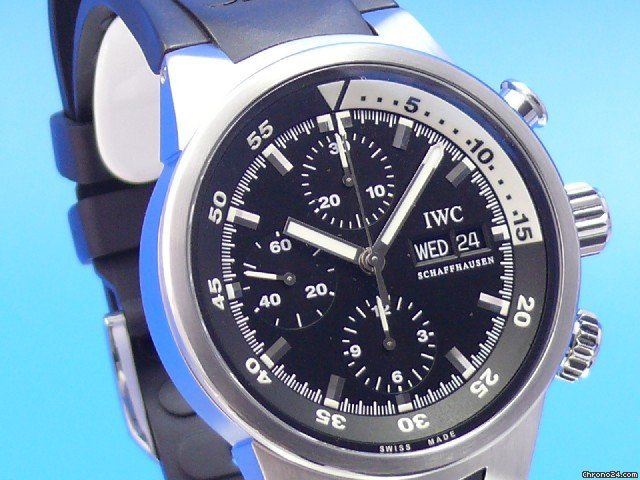 IWC AQUATIMER CHRONOGRAPH STAHL