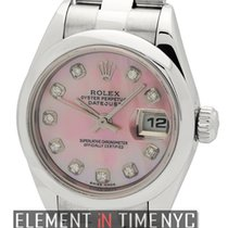 Rolex Datejust Stainless Steel 26mm MOP Diamond Dial P Series...