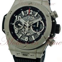 Hublot Big Bang Unico 45mm, Skeleton Dial - Titanium on Strap