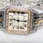 Cartier Panthère 18K Gold Midsize Diamond Watch