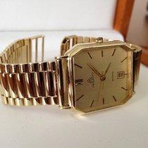 Marti Yellow Golden Mens Watch 36 mm (14 krt)