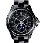 Chanel J12 Moonphase Ceramic New-Full Set