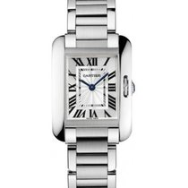 Cartier Tank Anglaise Small in Steel