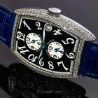 Franck Muller 18K WG Master Banker Pave Original Diamonds