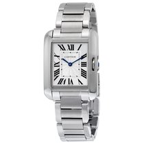 Cartier- Tank Anglaise - Mittleres Modell, Ref. W5310044
