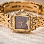 Cartier 18kt yellow Gold Panthere Mother of Pearl Dial
