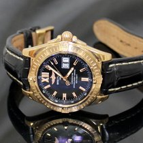 Breitling Windrider Cockpit Rose Gold Limited Edition Black Dial