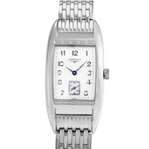 Longines BelleArti Stainless Steel Ladies Quartz Watch...