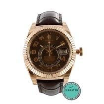 Rolex Sky-Dweller Chocolate Arab - 326135