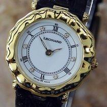 Leonard Swiss Made Ladies Luxurious Quartz Dress Watch Circa...