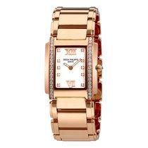 Patek Philippe Twenty-4 18 Carat Rose Gold Ladies Diamond Watch