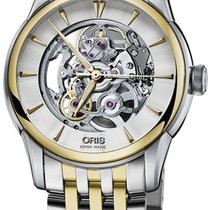 Oris Artelier Skeleton Mens Watch