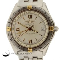 Breitling Antares World B32047.1 S' Steel & Gold...