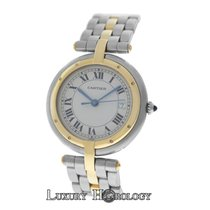 Cartier Lady's  Panthere Vendome Cougar 1 Row 18K Gold...