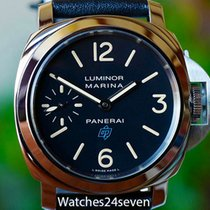 Panerai PAM 631 Luminor Marina Blue Logo Acciaio 44mm