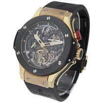 Hublot 308.PI.500.RX Bigger Bang Tourbillon in Rose Gold with...