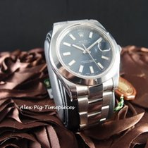 Rolex 116300 Datejust II Blue Dial Smooth Bezel [N E W]