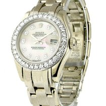 Rolex Used Lady''''''''s White...