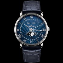 Blancpain [NEW] Moonphase & Complete Calendar 40mm Blue Dial
