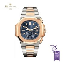 Patek Philippe Nautilus Chronograph Rose Gold And Steel -...