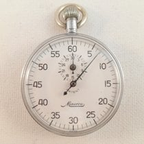 Minerva Stopwatch vintage stop watch black