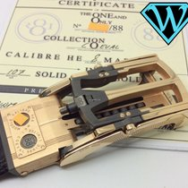 Roland Iten Belt Buckle calibre HE8 Mark I solid gold with...