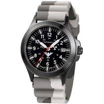 KHS Uhren Herrenuhr Black Platoon Titan Automatik KHS.BPTA.DC5