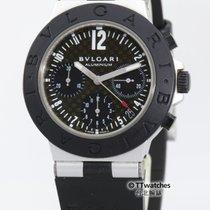 Bulgari Diagono Aluminum Chronograph 38mm AC38TA Just Serviced