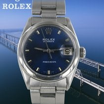 Rolex Medium Date Stahl
