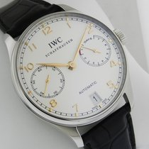 IWC Portuguese Automatic IW500114 7 Day Power Reserve 42.3mm NEW