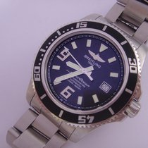 Breitling Superocean 44 Mm Huge Watch Steel Ref A17391