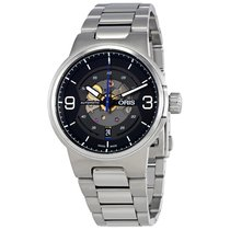 Oris Williams Engine Automatic Men's Stainless Steel Watch