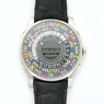 Louis Vuitton Time Zone Stainless Steel Ref. Q5D20