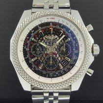 Breitling Bentley B06 AB0611 49mm Chrono Steel Exhibition Back...