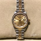 Rolex Datejust 26mm Steel And Gold With Diamond Dial