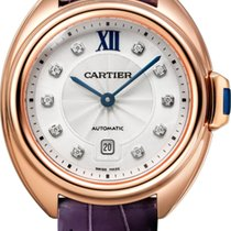 Cartier CLÉ DE CARTIER WJCL0031 NEW Pink GOLD 18CT 31MM