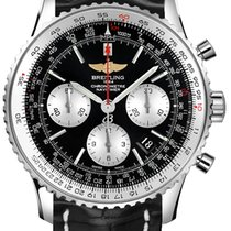 Breitling AB012721/BD09/761 Navitimer Black Steel Man Watch