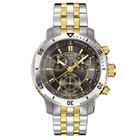 Tissot Men's T0674172205100 PRS 200 Two Tone Watch