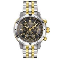 Tissot Men's T067.417.22.051.00 PRS 200 Two Tone Watch