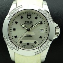 Tudor Prince Date Lady, Stainless Steel and diamonds