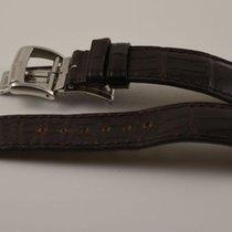 Baume & Mercier Leder Armband 22mm Mit Faltschliesse 20mm...