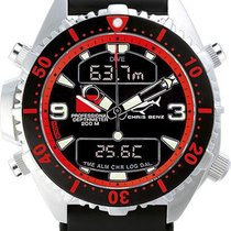 Chris Benz Depthmeter Digital CB-D200-R-KBS Herrenchronograph...