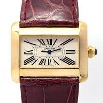 Cartier Tank Divan W6300356 18k Gold, With Box