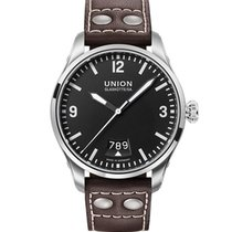 Union Glashütte Herrenuhr, Belisar Pilot Datum, D002.607.16.05...