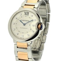 Cartier WE902044 Ballon Bleu Two-Tone Mid Size - Steel and...