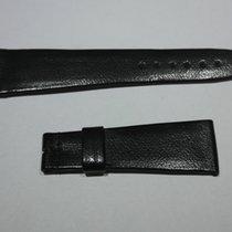 Doxa vintage leather strap black mm 22 newoldstock